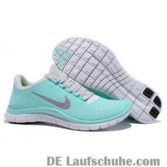 brand new 5e010 0a17d Nike Free 3.0 v4 Damen Laufschuhe - mintgrün Nike Lunarglide, White Women,  Shoes Women