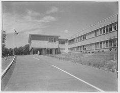 Warner-Lambert, 201 Tabor Road, Morris Plains, NJ headquarters 1960