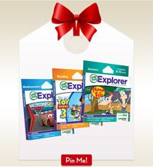 PIN TO WIN SWEEPS: Now you can enter to win 500$ worth of LeapFrog products when you create a wish list pinboard on Pinterest and enter via Facebook here: social.leapfrog.c... We'll randomly pick a winner once a week through 12/2, so get pinning!