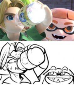 See more 'Super Smash Brothers Ultimate' images on Know Your Meme! Super Smash Bros Memes, Nintendo Super Smash Bros, Super Mario Bros, Video Game Memes, Video Games Funny, Funny Games, Splatoon Memes, Splatoon Comics, Jeux Nintendo 3ds