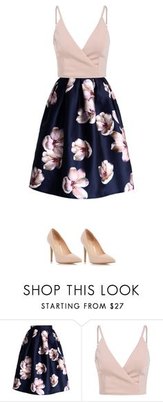 """💞"" by xxprinxessmooxx ❤ liked on Polyvore featuring Chicwish and Dorothy Perkins"