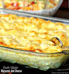 Double Cheddar Macaroni and Cheese ( my recipe , except for the cream cheese and mustard.and I may use a little more cheese😜) Pasta Recipes, Great Recipes, Cooking Recipes, Favorite Recipes, Pasta Meals, Dinner Recipes, Kitchen Recipes, Delicious Recipes, Appetizer Recipes