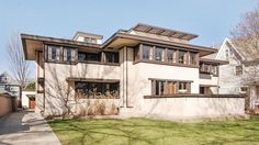 Frank Lloyd Wright's Oscar Balch House in Oak Park Lists for $1.25M - Curbed Chicago
