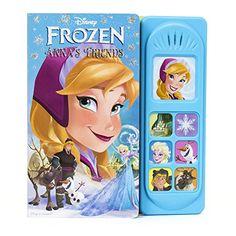 Disney Frozen Little Sound Book (Disney Frozen: Play-a-So...