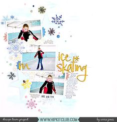 DT member corej_creative created this awesome layout just using the goodies in our November Main Kit!  There are so many gorgeous products to choose from in this single kit!  #hipkitclub  #hipkit #hipkits #november2017 #christmas #winter #december #holidays #decemberdays #sweaterweather #snowandcocoa #hkcexclusives #mixedmedia #vibez #creameez