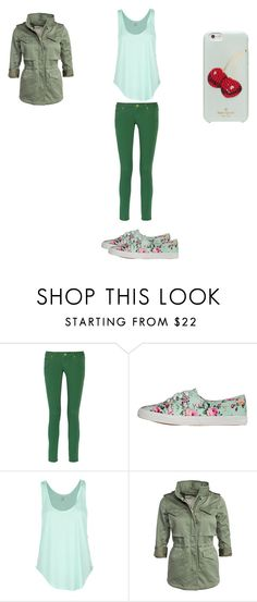 """""""pale shades"""" by nora-simpson on Polyvore featuring M Missoni, yeswalker, Rip Curl, Denim & Supply by Ralph Lauren and Kate Spade"""