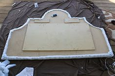 Handmade King Size Headboard (dimensions)