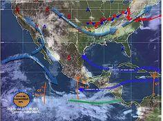 Lluvias muy fuertes en varios estados del país: SMN