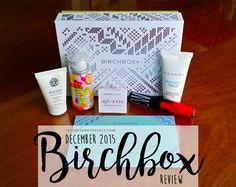 Birchbox Review - December 2015 | Teacups & Travels Ecommerce Hosting, Teacups, Lifestyle Blog, December, About Me Blog, Travel, Viajes, Destinations, Traveling
