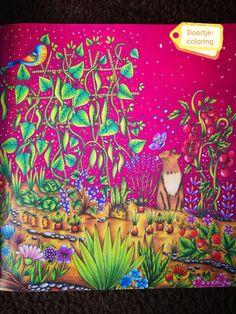 Mein sommer spaziergang van Rita Berman  Colored by doortje-coloring