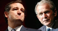 Texas Combat: Former U.S President George Bush apparently slits Ted Cruz to Jeb donors