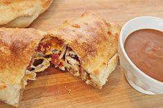 Taste & See: BBQ Chicken Calzones