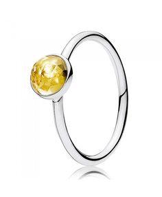 4e8a5dcd8 November Birthstone Droplet Ring Pandora Sale, Pandora Rings, Pandora  Charms, Birthstones, Black