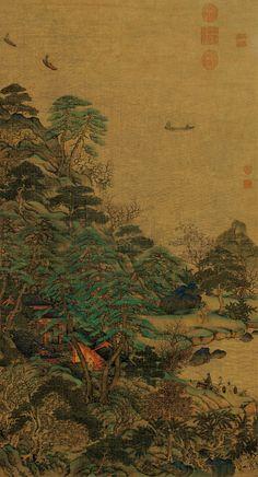 Li Sixun: Sailboats and Pavilions   China Online Museum