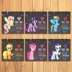 Hey, I found this really awesome Etsy listing at https://www.etsy.com/listing/215556903/my-little-pony-valentines-day-cards