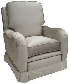 @rosenberryrooms is offering $20 OFF your purchase! Share the news and save!  Kensington Recliner - Aspen Silver #rosenberryrooms