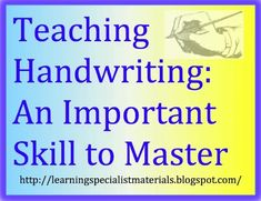 With the integration of technology into the classroom and limited instructional time, teachers spend less and less time on the teaching of penmanship. In fact, many schools have stopped teaching script altogether. Instead, the instruction and practice time, that was once used to refine printing and cursive skills, have been reallocated to other tasks such as keyboarding. #penmanship #handwriting #cursive #script Learning Cursive, Teaching Handwriting, Nice Handwriting, Learning The Alphabet, Help Teaching, Teaching Writing, Word Formation, Self Advocacy, Emotional Regulation
