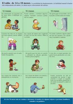 Pasitos de bebé: Desarrollo del bebé a partir del año