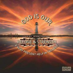 Sunset lighthouse psalm 45
