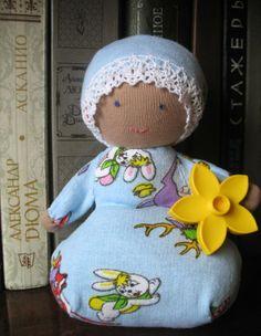 A Waldorf doll for my son Вальдорфская кукла для сына))