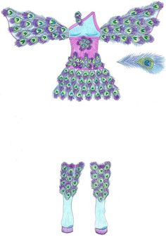 Peacock Fairy Costume. You are a click away from seeing more costumes or two.