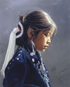 A Young Girls Dream George Molnar kK