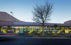 Galeria de Escola de Ensino Médio, Ginásio e Centro Cultural / Chartier Dalix Architectes - 12