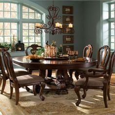 Victorian dining room set love the table and chairs!   vintage ...