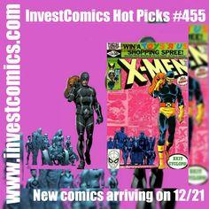 New comics arriving on 12/21. Go to www.investcomics.com and read which books made the Hot Picks cut.  #InvestComics #superman #batman #comics #marvel #marvelcomics #dccomics #comicbooks #newcomics #deadpool #spiderman #comic #suicidésquad #harleyquinn #joker #starwars #rougeone #marketing #socialmedia #social #market #marketinglife #socialmediamarketing #comicsforsale #comicart #ironman #xmen