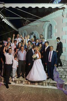 Graceful wedding photography & wedding photos Agia Kyriaki Church #Lefkas #Ionian #Greece #wedding #weddingdestination Eikona Lefkada Stavraka Kritikos