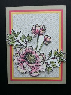 Love the bloom with hope stamp set
