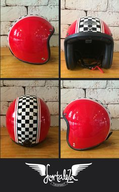 Casco Bandido FIERRO checkered  $ 350.000 COP  $ 115 US