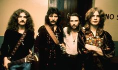 Black Sabbath announce farewell concert || The legendary heavy metal band's final live performance will be at Ozzfest in Tokyo, and an invite to drummer Bill Ward is pending || Black Sabbath in the 1970s … Geezer Butler, Tony Iommi, Bill Ward and Ozzy Osbourne. Photograph: Chris Walter/WireImage