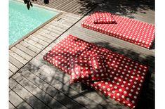 matelas extérieur à pois imperméable Picnic Blanket, Outdoor Blanket, Decoration, Diy, Patio, Pillows, Sewing, Home Decoration, Home Ideas