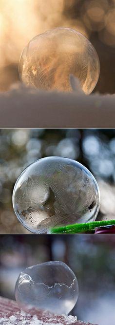 Frozen bubbles - genius!