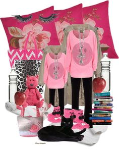 """""""Like mother like daughter study night"""" by tara282000 ❤ liked on Polyvore"""
