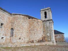 Peña de Francia. Abside del Santuario y Campanario.