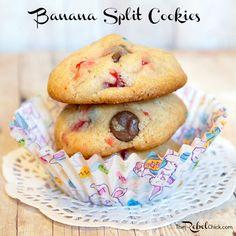 Banana Split Cookies...my next baking adventure!