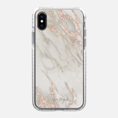 Rose Gold Marble 2 by Nature Magick - Snap Case