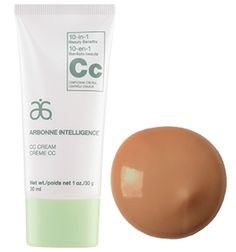 Arbonne Intelligence® CC Cream - Fair from What It Is: 10-in-1 Complexion Control Cream that combines the best of skincare and color in one time-saving product. Lightweight, buildable coverage creates a fresh, flawless finish, while the innovative Arbonne proprietary complex Phytinol™ protects hydrates and refines. Beauty and smarts — our CC Cream has it covered.