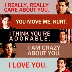 (: All I want is a relationship like Klaine where both people care...is that too much to ask?