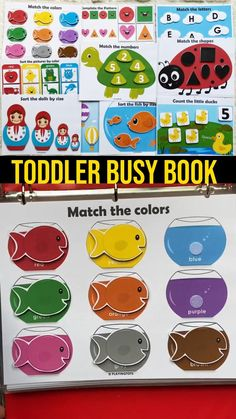 Preschool Learning Activities, Preschool Classroom, Infant Activities, Preschool Activities, Kids Educational Crafts, Toddler Fun, Busy Book, Ipa, Color Songs For Toddlers