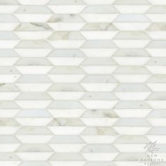Fairfax a natural stone mosaic shown in Thassos and honed Calacatta Tia, is part of the Silk Road Collection by Sara Baldwin for New Ravenna Mosaics. Ravenna Mosaics, Dark Harbor, New Ravenna, Mosaic Tile Designs, Shine Your Light, Style Tile, Calacatta, Stone Mosaic, Silk Road