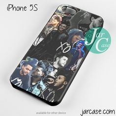Drake X The Weeknd Collage Phone case for iPhone 4/4s/5/5c/5s/6/6 plus