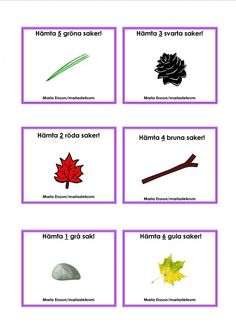 Mariaslekrum - Uppdragskort Nature Activities, Toddler Activities, Outdoor Activities, Kindergarten Teachers, Preschool Activities, Sign Language Book, Learn Swedish, Swedish Language, Bingo