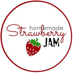 Strawberry-Jam-Labels-Free~ & other fruits too
