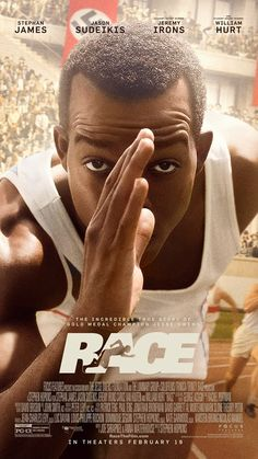 Race tells the story of Jesse Owens' preparation and stunning performance at the 1936 Summer Olympics at Berlin, Germany. How did Jesse Owens' stunning track and field performance undermine Adolf Hitler's Aryan supremacy propaganda? Streaming Movies, Hd Movies, Movies To Watch, Movies Online, Movies And Tv Shows, Movie Tv, 2016 Movies, Streaming Vf, Movies Free