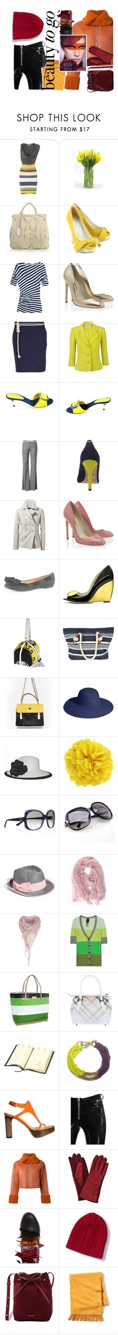 """""""ready"""" by marbau ❤ liked on Polyvore featuring Coccinelle, Vivienne Westwood Anglomania, Rupert Sanderson, Golden Classic, Libertine-Libertine, Precis Petite, Funtasma, Theory, Carvela and Uniqlo"""
