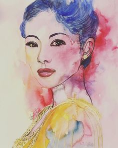 WANT A FREE FEATURE ?   CLICK LINK IN MY PROFILE !!!    Tag  #LADYTEREZIE   Repost from @christinegautheron   Shine of colors around Zhang Ziyi... #art_collective #wordofpencils #aquarellepainting #artshelp #watercolorpaintings  #geisha #hindou #sari #maiko #geiko  #chine #instakyoto #blackandwhite #colouredpencil  #watercolobog #art_collective #wordofpencils #japan #gallery84 #artistic_bros #artistic_mind #illustration #Tokyo #Kyoto #gionkobu #gion #creative_movement via…