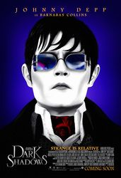 Dark Shadows  May 11, 2012  Movie lovers follow me!  Click photo link for trailer or visit www.upcomingproductions.com